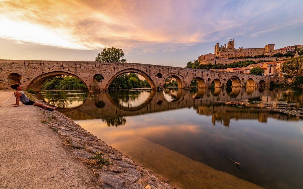 Pont Vieux et Acropole de Béziers