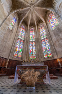 Chœur de la collégiale Saint-Etienne de Capestang