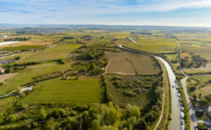 Courbes harmonieuses du Canal du Midi