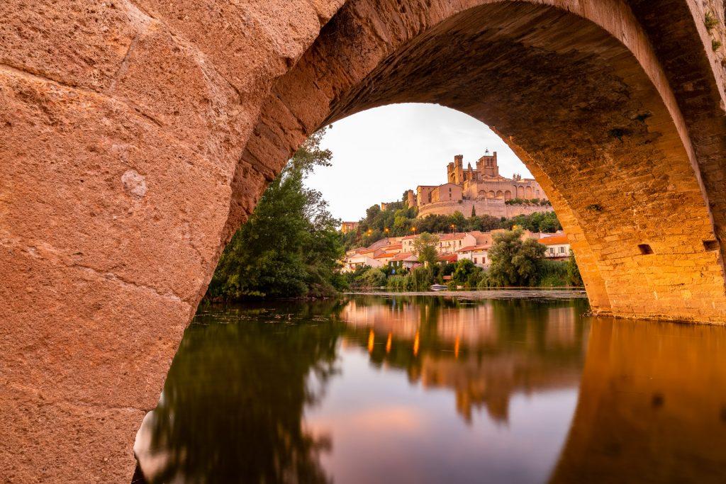 Sous une arche du Pont Vieux