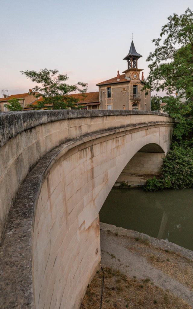 Le pont de Poilhes
