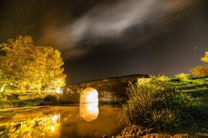 Pont de pierre à Capestang