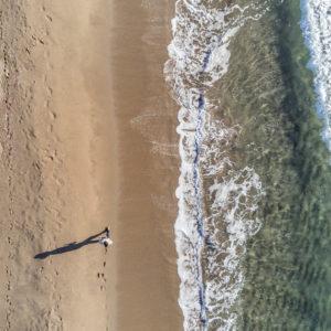 Balade littorale, vue aérienne