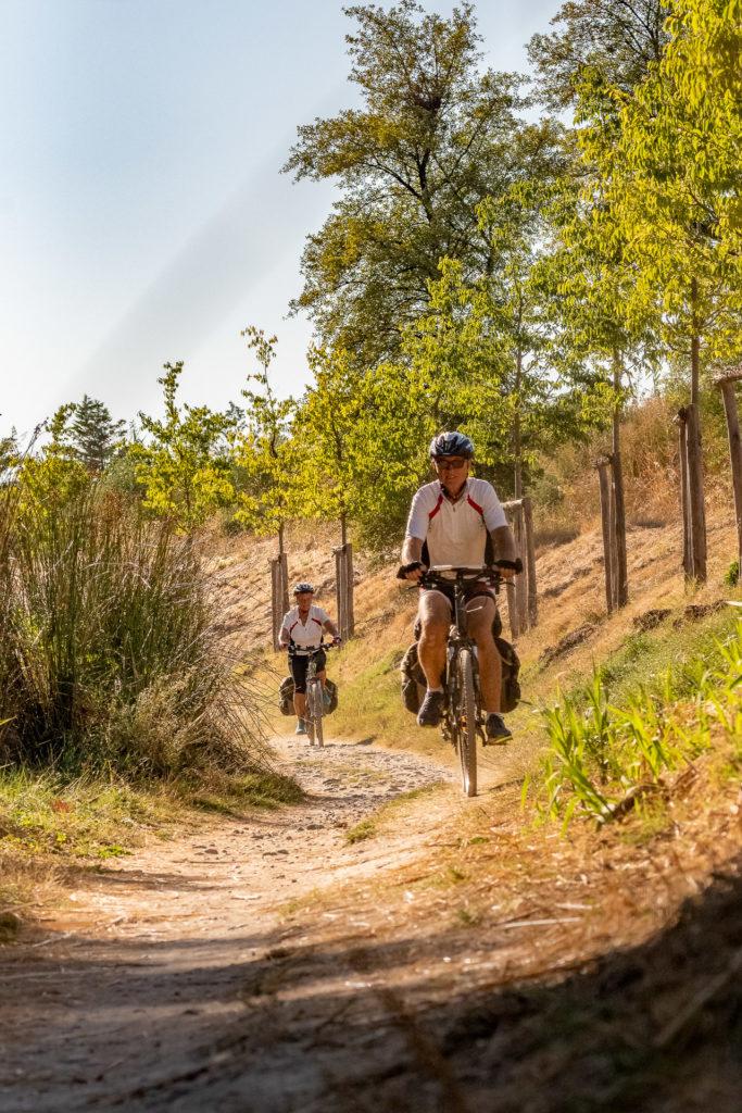 A vélo sur le chemin de halage