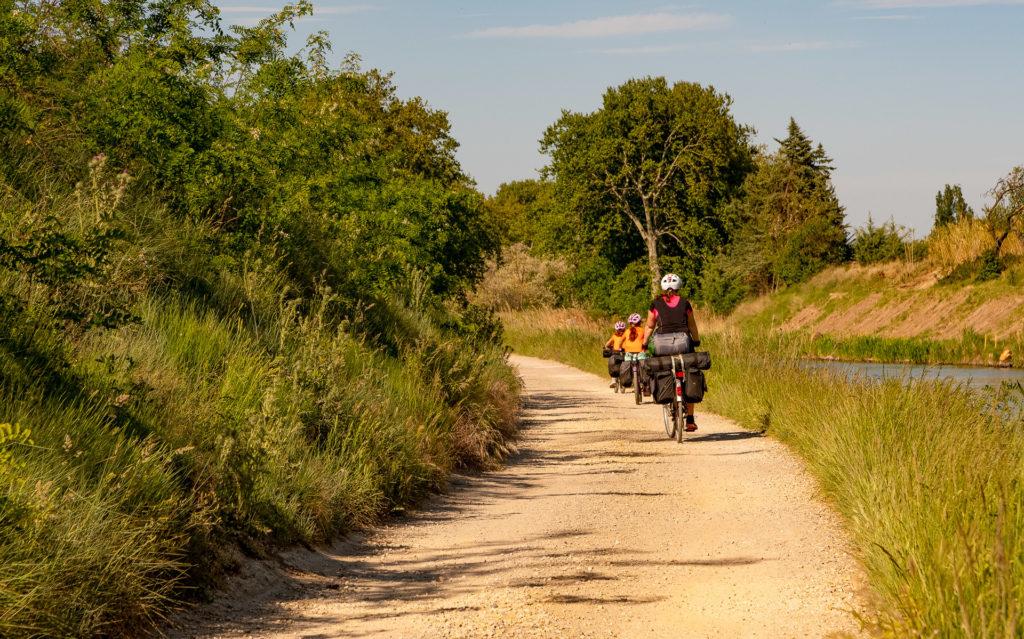 Grande itinérance sur le chemin de halage à Colombiers
